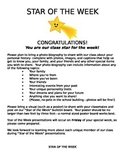 """""""Star of the Week"""" project description"""