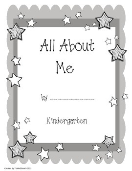 Star of the Week: All About Me Book Project