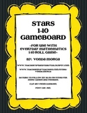 Star or Space Theme 1-10 Game Everyday Mathematics