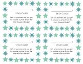 Star punch card