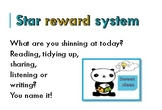Star rewards