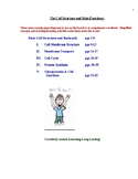 Anatomy Star's Notes: Orientation to the Body and Review o