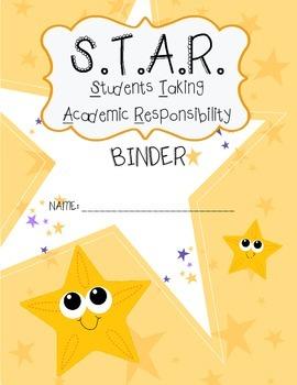 Star take home binder cover
