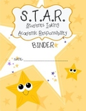 Star take home binder cover