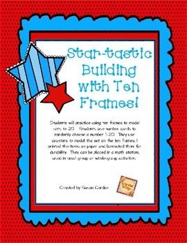 Building With Ten Frames Freebie