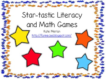 Star-tastic Math and Literacy Games