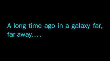 Star wars booklet