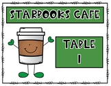 Starbooks Book Tasting Table Number Signs