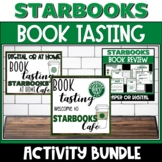 Starbooks Book Tasting and Book Review Activity Bundle