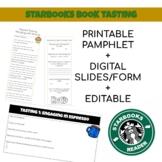 Starbooks Cafe Book Tasting