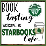 Starbooks Cafe Book Tasting Activity Event Set