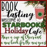 Starbooks Cafe Book Tasting Activity Event Set December Christmas Winter Holiday