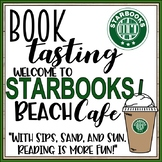 Starbooks Cafe Book Tasting Activity Event Set End of the Year