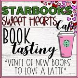 Starbooks Cafe Book Tasting Activity Event Set February Valentine's Day