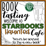 Starbooks Cafe Book Tasting Activity Event Set for Halloween Fall or October