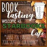 Starbooks Cafe Book Tasting Activity Event Set for Thanksgiving Fall November