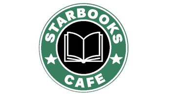 Image result for starbooks cafe