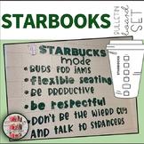 Starbooks Mode Starbucks Mode COFFEE THEMED BULLETIN BOARD STARBOOKS