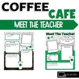Starbooks Theme Editable Meet The Teacher Templates Starbucks Classroom Coffee