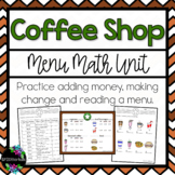 Coffee Shop Menu Math