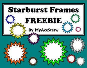 Starburst Frames FREEBIE