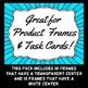 Starburst Frames - Great For Product Frames or Task Cards
