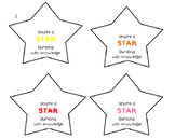 Test Day Treat / Gift Tag / Starburst / Motivation / Test Prep