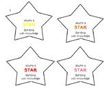 Test Day Treat / Gift Tag / Starburst / Motivation / Test Prep