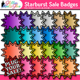 Starburst Sale Frame Clip Art: TPT Store Graphics {Glitter Meets Glue}