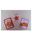Starburst Valentine Teacher or Friend Card
