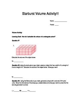 Starbursts Volume Activity!