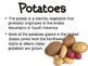 Starches Powerpoint for Culinary Arts Course FCS