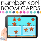 Starfish 0-20 Number Sort Boom™ Cards - Distance Learning