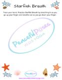 Starfish Breath Worksheet - Distance Learning