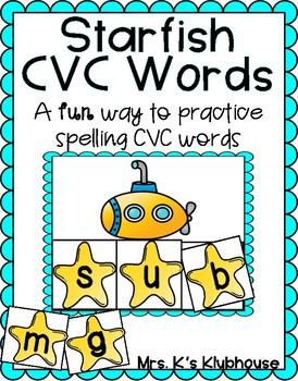 Starfish CVC Words