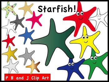 Starfish! Clip Art