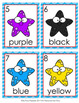 Starfish Colors Write the Room Activity
