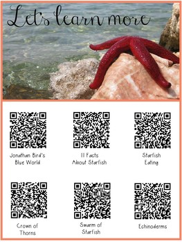 Starfish FREEBIE: Research Resources