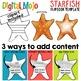 Starfish Flipbook Editable Template