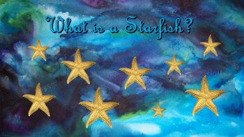 Starfish Lesson, Song, and Quiz