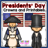 Presidents' Day Crowns and Printables