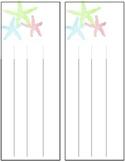 Starfish Nameplates