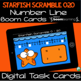 Starfish Scramble - Identifying Numbers from 0 - 20 on a N
