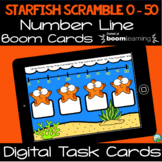 Starfish Scramble - Identifying Numbers from 0 - 50 on a N