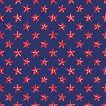 Starfish Scrapbook Paper