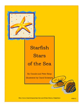 Starfish Stars of the Sea reading activities unit printables graphic organizers