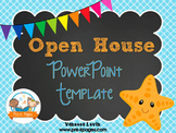 Starfish Theme Open House Back-to-School PowerPoint Template {personalize it}