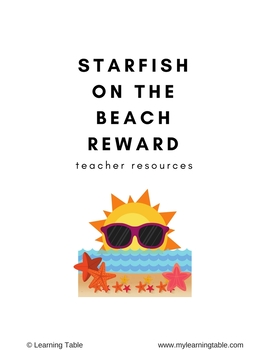 Starfish on the Beach Reward