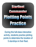Starfleet Commander Plotting Points Practice