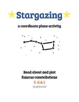 Stargazing: Graphing on the Coordinate Plane